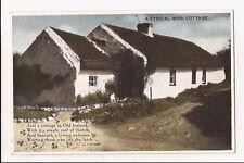 (f43) A Typical Irish Cottage,  - Unused