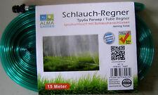 Schlauch Regner Sprühschlauch mit Schlauchanschluß 15 Meter G&M