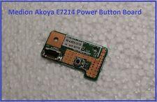 Medion Akoya E7214 Power Knopf an aus Button Board