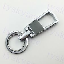 Auto Accessories Trim Fashion Keyring Creative Gift Key Holder Chain Ring Steel