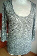 Damen leicht Pullover von SPRIT, GR.-M Grau Farbe mit Lureks, in guter Zustand.