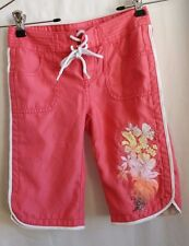 Old Navy Boy's XS Size 5 Coral Board Shorts with Pockets Pool or Beach Shorts