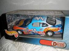 Hot Wheels Blue Hot Wheels Mattel Deluxe 44 Kyle Petty 1/24 unopened Box Nascar
