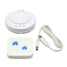 Mini Ultrasonic Contact Lens Lenses Cleaner White USB Connector CE-4200 Wd