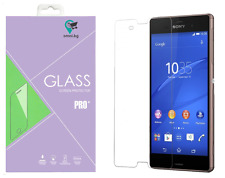 For SONY XPERIA Z3 TEMPERED Glass Screen Protector Protection Guard Film HQ