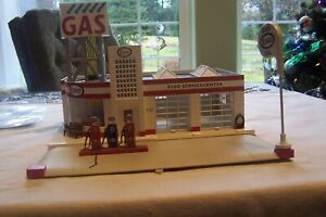 LIONEL # 6-24183 ANIMATED ESSO GAS STATION EXCELLENT