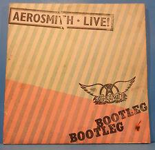 AEROSMITH LIVE BOOTLEG VINYL 2X LP 1978 ORIGINAL PRESS PLAYS GREAT!! VG+/VG!!C