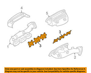 NISSAN OEM Exhaust-Manifold Gasket 14036AG010