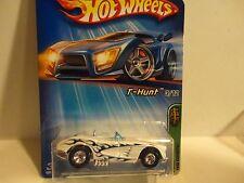 2005 Hot Wheels Treasure Hunt #123 Pearl White '58 Corvette w/Real Riders