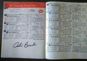2010 Kentucky Derby program MINT CONDITION Super Saver CALVIN BOREL signed