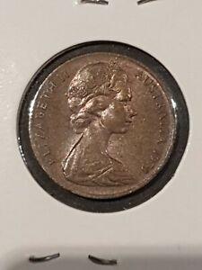 Australian 1973 2 two cent aunc coin
