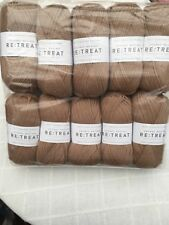 West Yorkshire Spinners Re-treat Chunky Roving 100 Pure Wool 500 Grams