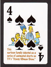 The Simpsons TV Series Debut Neat Playing Card #7Y8