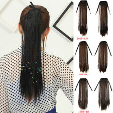 Women's Micro Braids Ponytail Hair Piece Synthetic Wrap Pony Tail Hair Extension