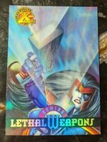 1995 Fleer Ultra X-Men - Lethal Weapons Chase Card 4 of 9 Domino