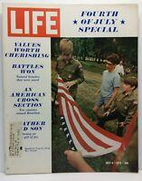 Life Magazine Vintage Back Issue July 4 1970