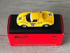 BEST MODEL LM 9010 Ferrari 250 LM #26 24h Le Mans 1965 1/43 Minichamps Spark Ixo