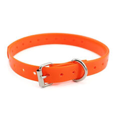 "6""-25"" Adjustable TPU Collar for Pet Dog Anti Bark Training E-Collar XS/S/M/L/XL"