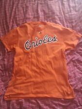 Orange Baltimore Orioles Cal Ripken T-shirt Medium MLB Baseball
