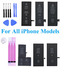 Replacement Internal Battery For iPhone 5 6 7 8 Plus X XS XR 11 12 Pro MAX LOT