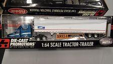 DCP #30292 SCHUSTER TRUCKING IH 9400 semi day cab truck reefer van trailer 1:64/