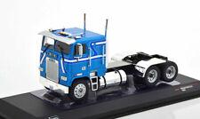 IXO MODELS TR046  Camion freightliner FLA  metal bleu 1:43