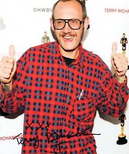 Terry Richardson Signed Autographed 8x10 Photo Portrait Photographer COA VD