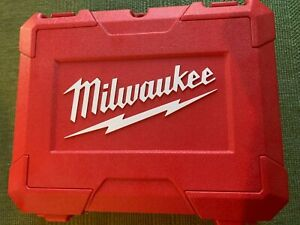 NEW Milwaukee Hard Plastic Case holds M18 Impact Driver, 2 Batteries and Charger