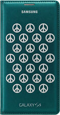 Official  Original  SAMSUNG GALAXY S5  FLIP WALLET  COVER MOSCHINO GREEN SEALED