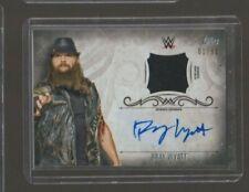 2016 Topps WWE Undisputed SILVER Bray Wyatt Autograph Auto Shirt Relic /50