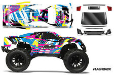 RC Body Graphics Kit Decal Sticker Wrap For Vaterra Halix Monster Truck FLASHBK