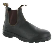 Stivali, anfibi e scarponcini da uomo Blundstone marrone 100% pelle