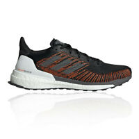 adidas Mens Solar Boost ST 19 Running Shoes Trainers Sneakers - Black Orange