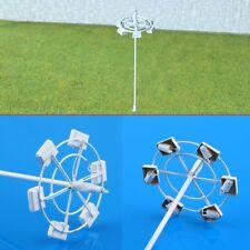 5 x OO / HO scale Model Lamp Plaza Lamppost Street Light 3V + resistor for 12V