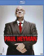 WWE: LADIES AND GENTLEMEN, MY NAME IS PAUL HEYMAN  BLU-RAY BRAND NEW SEALED