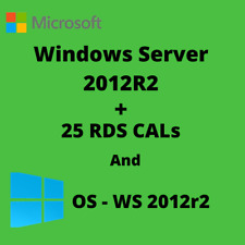 Server 2012 R2 Std 25 RDS CAL User/Device
