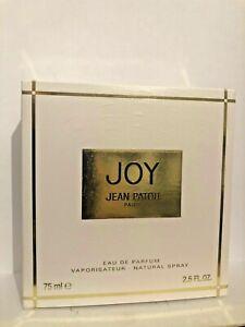 JOY DE JEAN PATOU - VAPORISATEUR 75 ML EAU DE PARFUM - NEUF