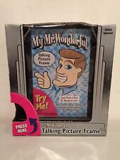 MY MR. WONDERFUL Talking Picture Photo Frame Battery Operated Novelty Gag Gift!