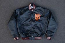 Vintage San Francisco Giants Satin Jacket by Starter Size M Mint 80s 90s SF