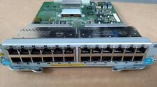 HP ProCurve J8702A 24-Ports 10/100/1000 POE Plug-in Module Switch 5400zl Tested