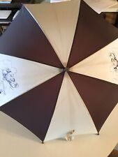 Superman Vintage Umbrella Brown Comic Print Dc Comics 1966
