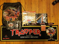 IRON MAIDEN BOOK OF SOULS 2016 TOUR TROOPER ALE COMPLETE VIP EVENT PACKAGE EDDIE