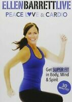 The Studio by Ellen Barrett Peace Love and Cardio DVD Exercise