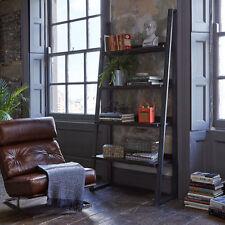 John Lewis Calia Bookcase / Bookshelf, Dark Oak & Iron