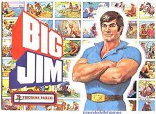 evado mancoliste figurine BIG JIM Panini 1977 € 1,00 nuove vedi lista