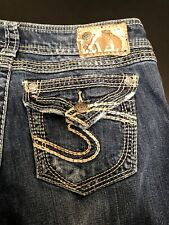"Women's Silver Jeans Company Blue Jeans(Suki Surplus) WGW Size 27X30"" CA00508"