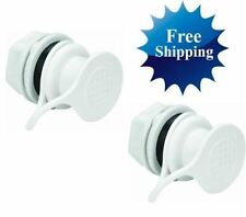 IGLOO COOLER REPLACEMENT STANDARD TRIPLE SNAP DRAIN PLUG 2-PK