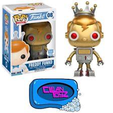 Funko Pop! Freddy Funko Gold Robot Funko-Shop Exclusive
