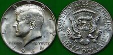 1964 US (D Mint) Silver Kennedy Half Dollar Graded as Brilliant Uncirculated