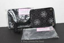 Thirty One Set of 2 Luggage Tags in Onyx Blossom NEW